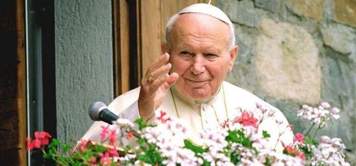 Papa Jão Paulo II no vaticano