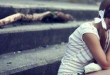 jovem carente precisando de carinho