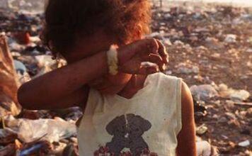 criança passando fome, O maior problema da fome é o egoísmo