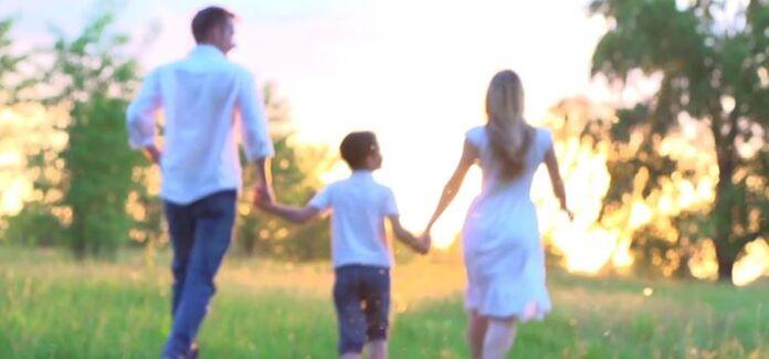 Alegria do amor na Família