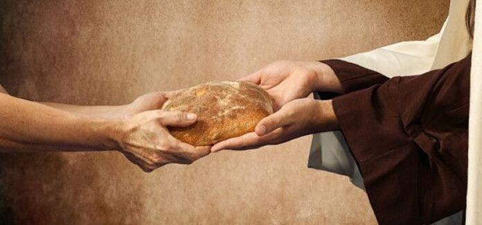 Eu sou o pão que desceu do céu! O pão da vida