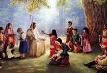 Jesus e as crianças o maior no reino de Deus