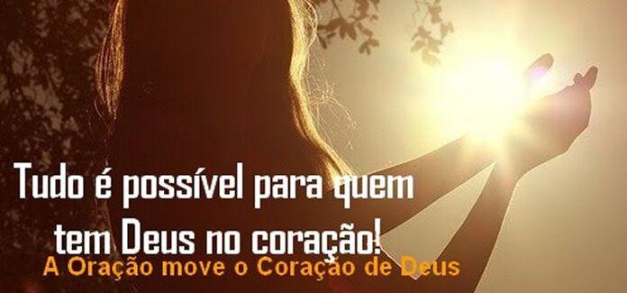 para Deus tudo é possivel